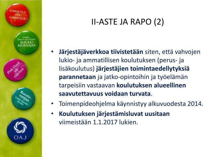 II-ASTE JA RAPO (2)