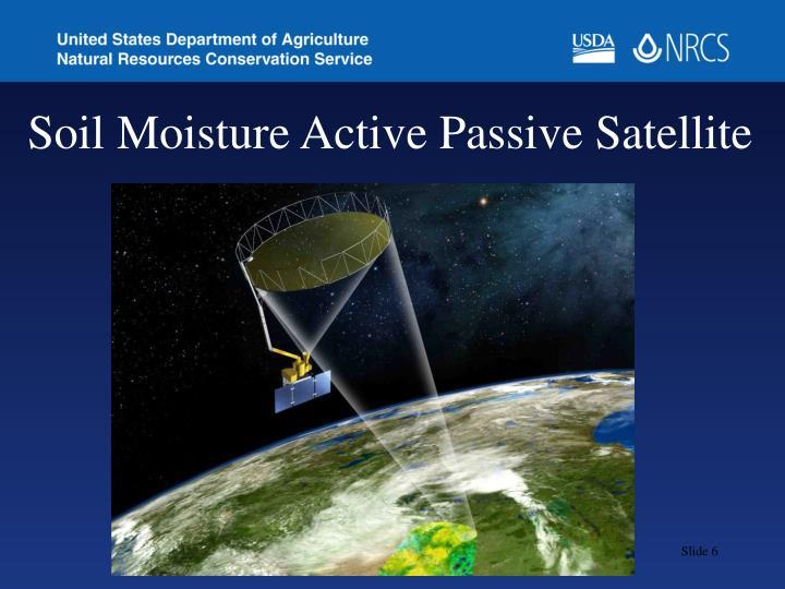 Soil Moisture Active Passive Satellite