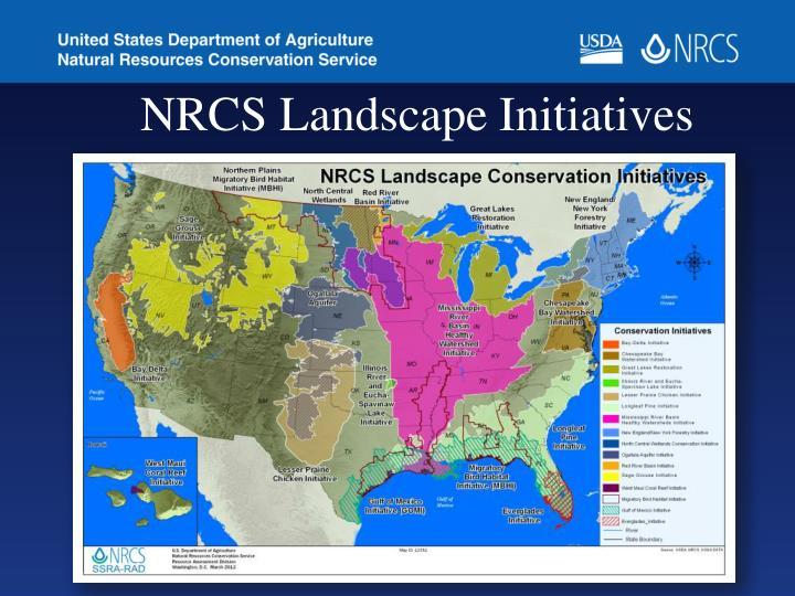 NRCS Landscape Initiatives