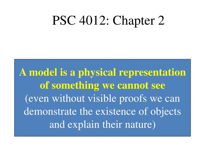 Psc 4012 chapter 21