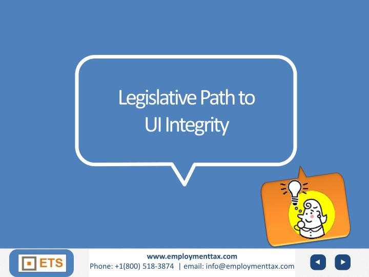 Legislative Path to