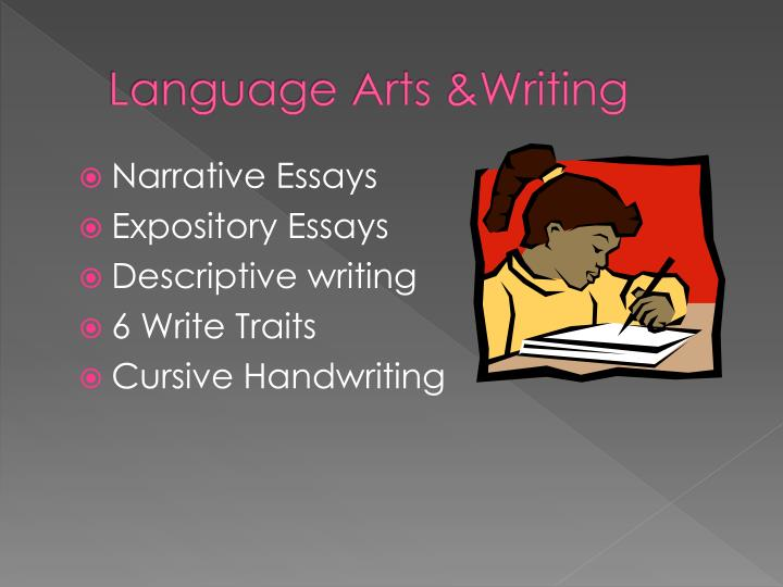Language Arts &Writing