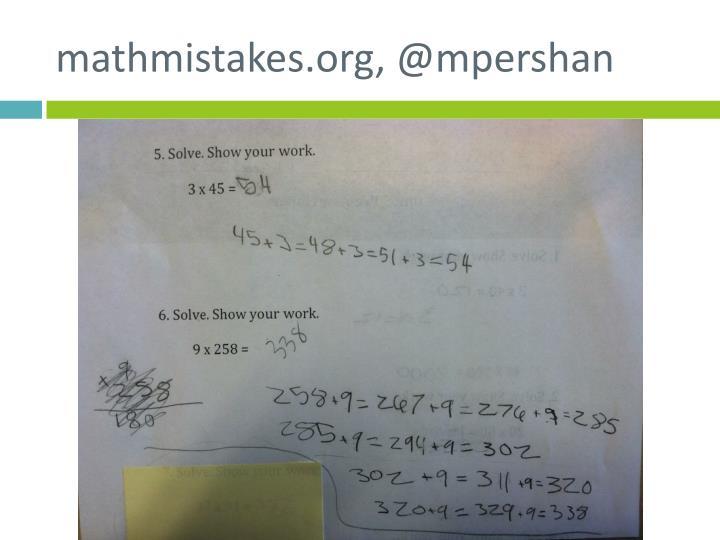 mathmistakes.org, @