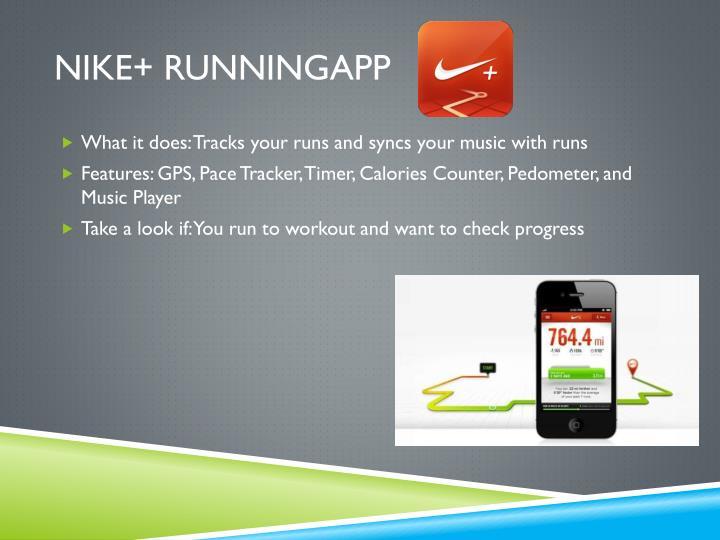 Nike+ RunningApp