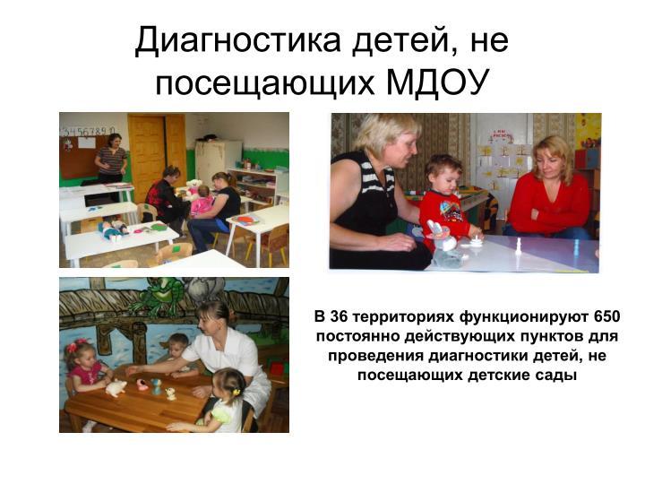 Диагностика детей, не посещающих МДОУ