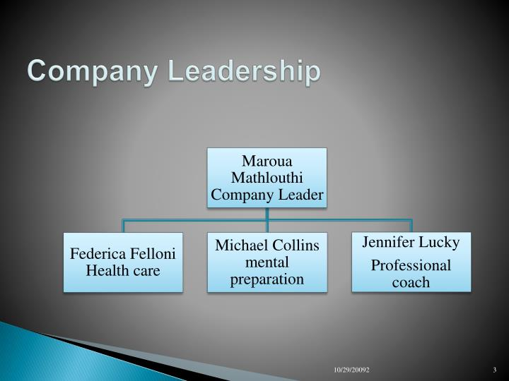 Company leadership