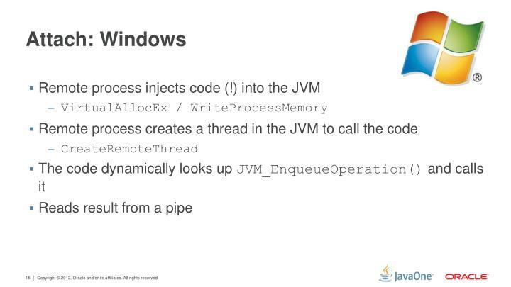 Attach: Windows