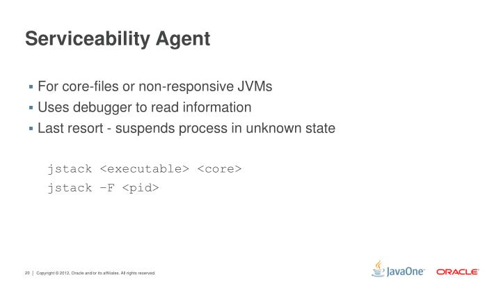 Serviceability Agent