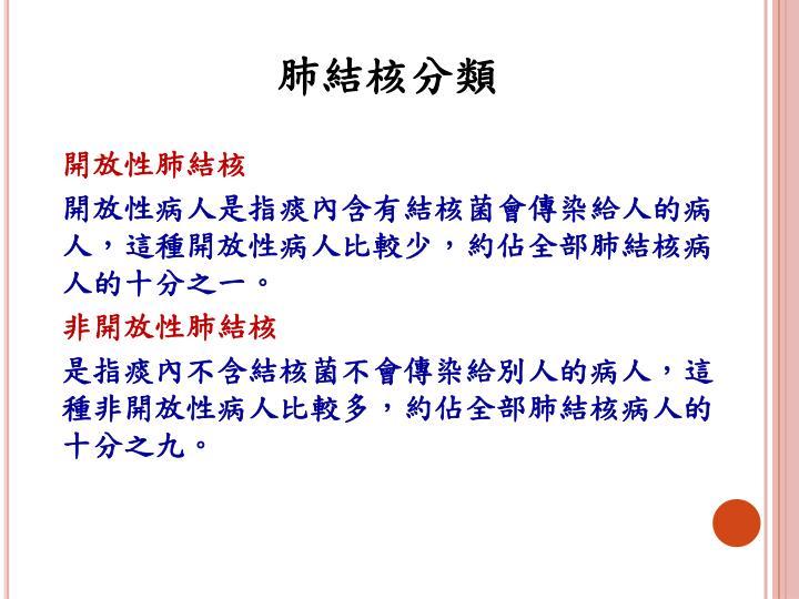 肺結核分類