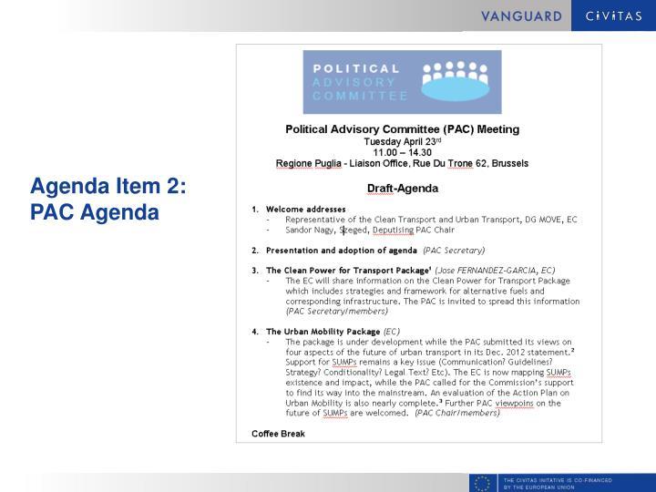 Agenda Item 2: