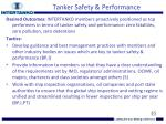 tanker safety performance