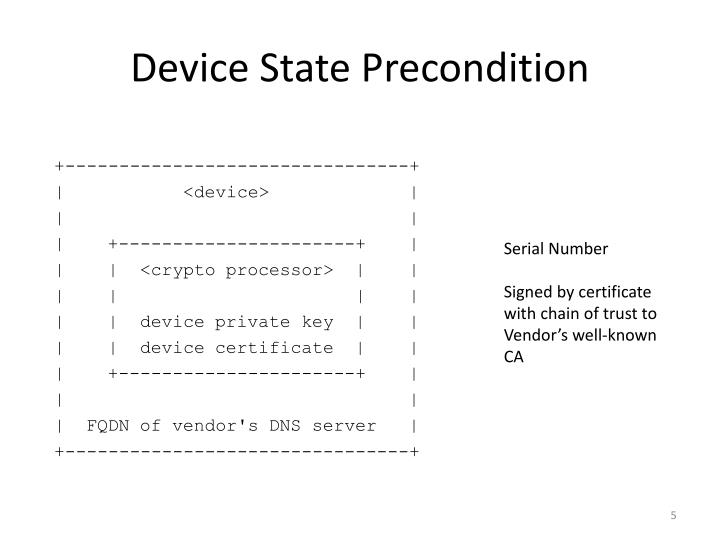 Device State