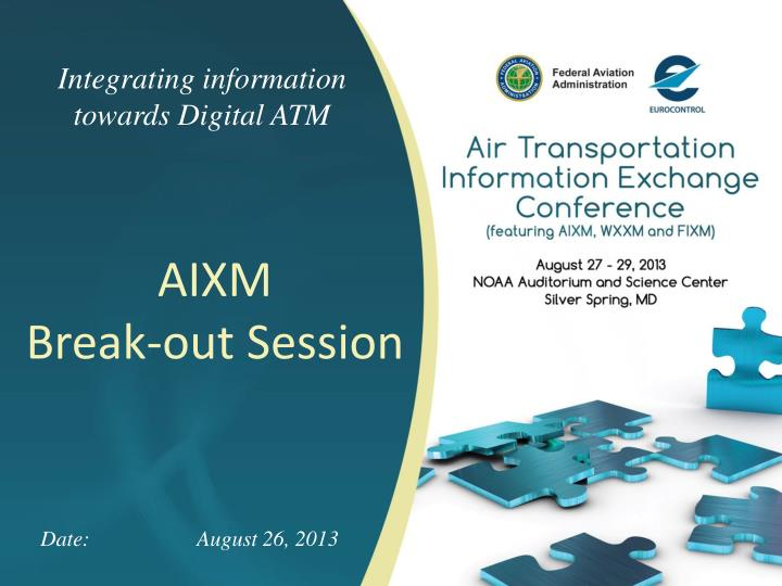 Integrating information towards Digital ATM