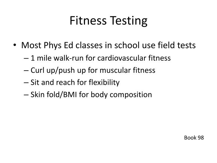 Fitness testing1