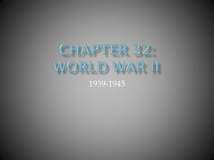 Chapter 32:
