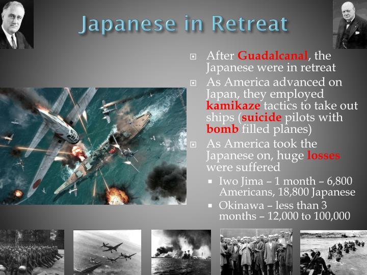 Japanese in Retreat