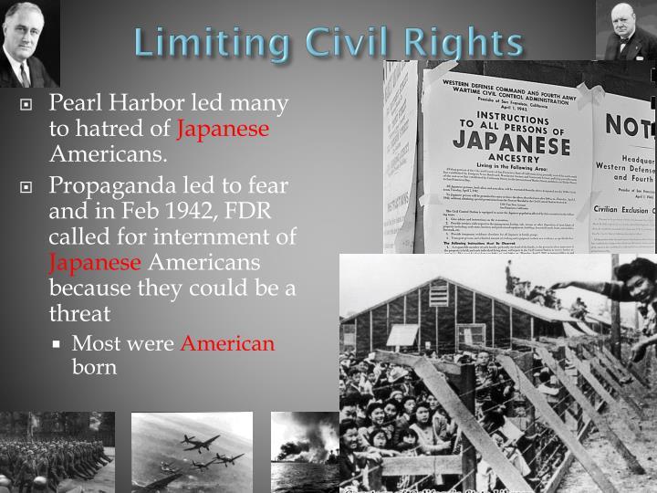 Limiting Civil Rights