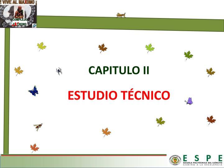 ESTUDIO TÉCNICO