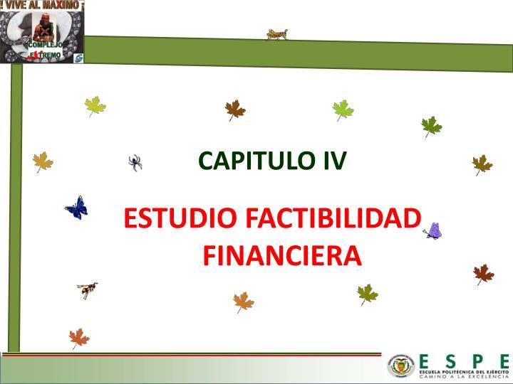 ESTUDIO FACTIBILIDAD FINANCIERA