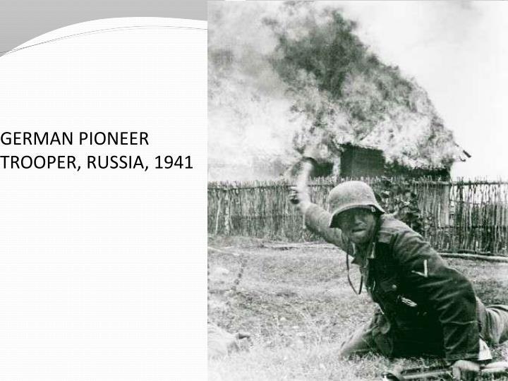 GERMAN PIONEER