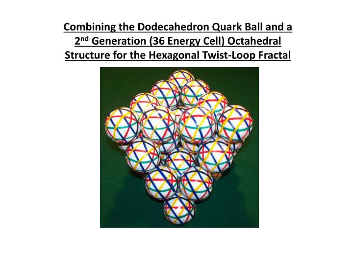 Combining the Dodecahedron Quark Ball and a