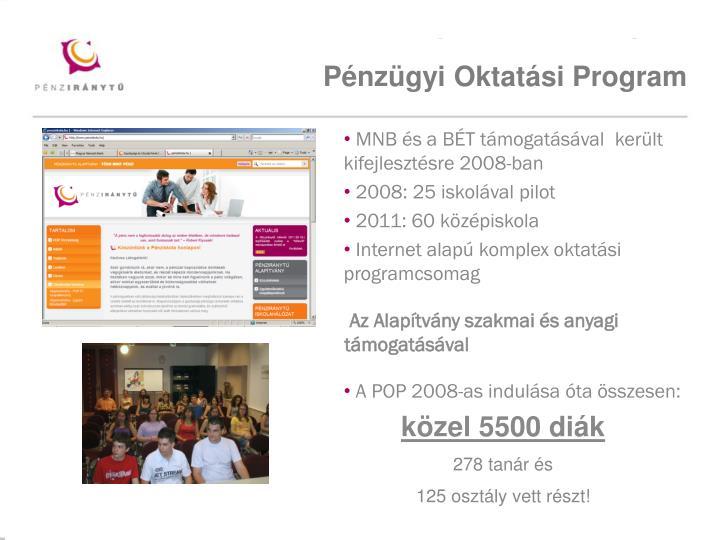 Pénzügyi Oktatási Program
