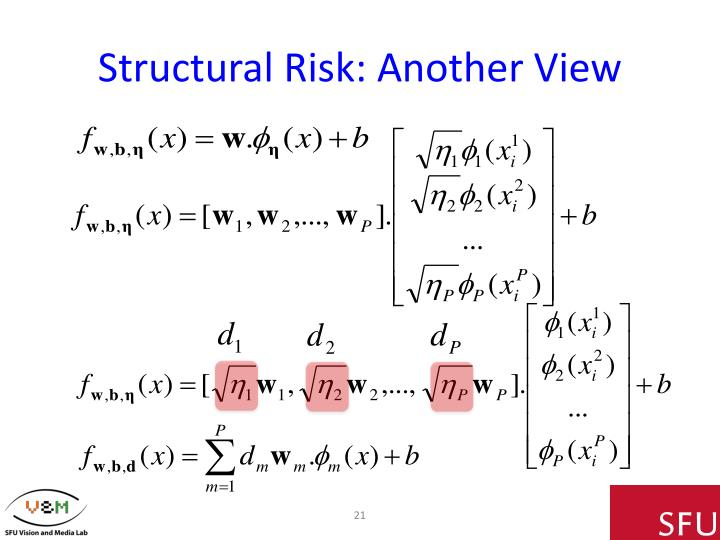 Structural Risk: Another View