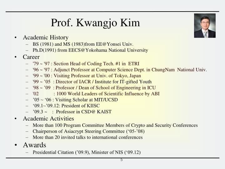 Academic History