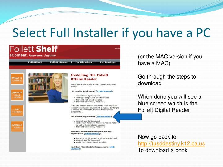 Select Full Installer if you have a PC