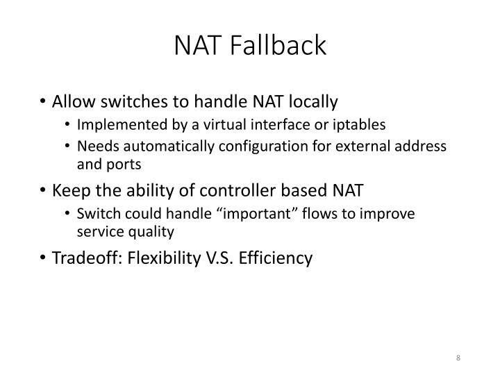 NAT Fallback