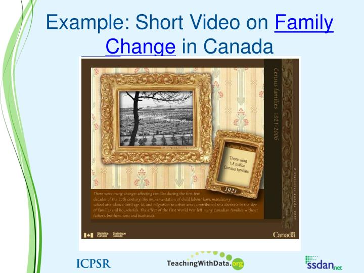 Example: Short Video on