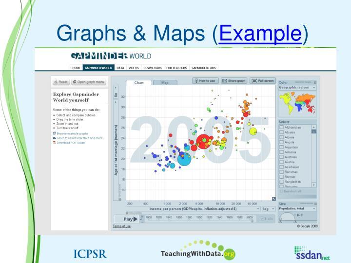 Graphs & Maps (