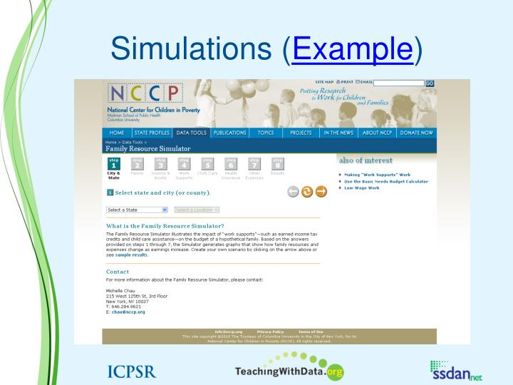 Simulations (