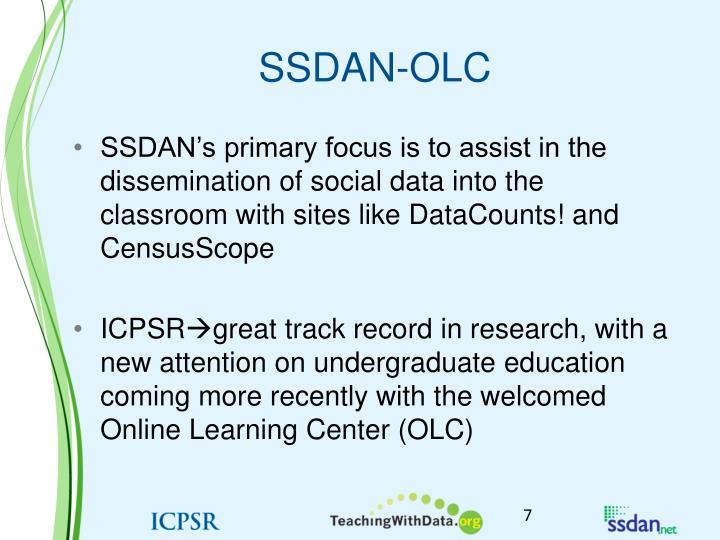 SSDAN-OLC