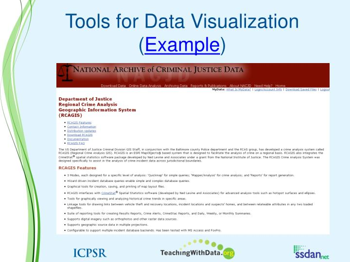Tools for Data Visualization (