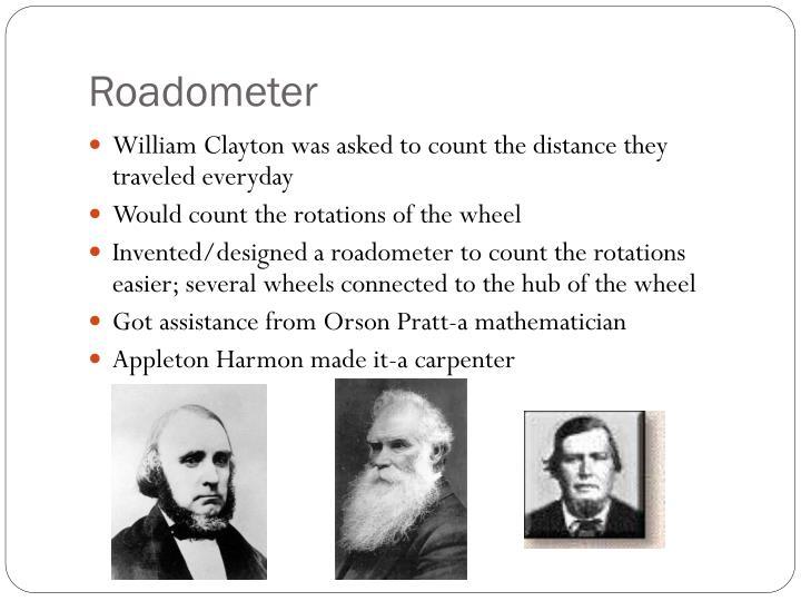 Roadometer