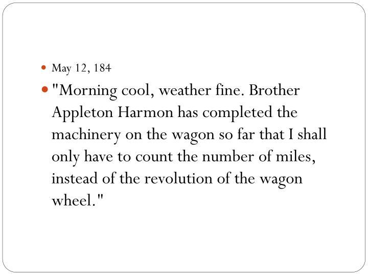 May 12, 184
