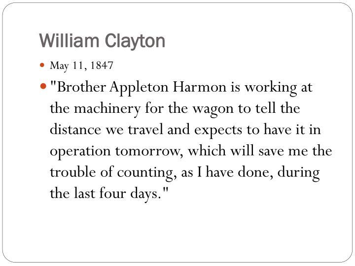 William Clayton