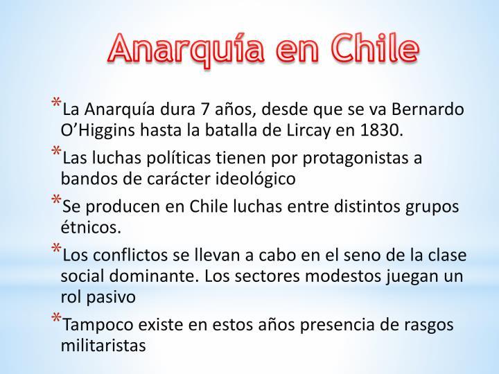 Anarquía en Chile