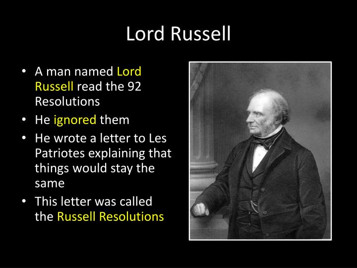 Lord Russell