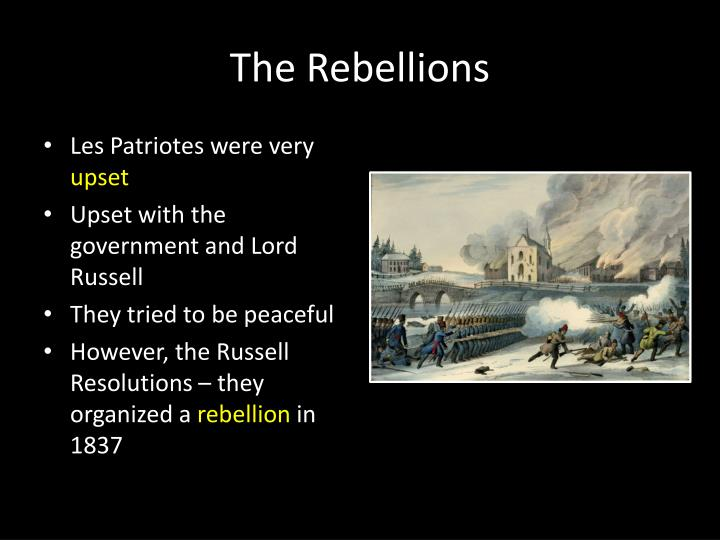 The Rebellions