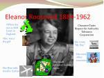 eleanor roosevelt 1884 1962