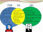 fdr vs lbj