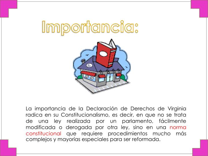Importancia: