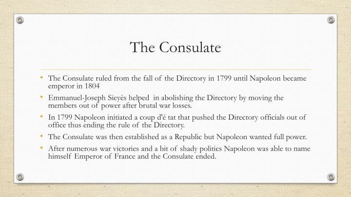 The Consulate