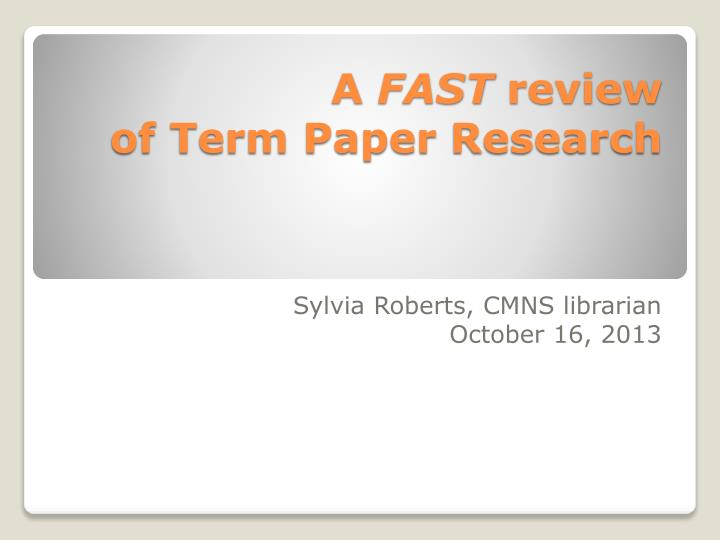 term paper sites review