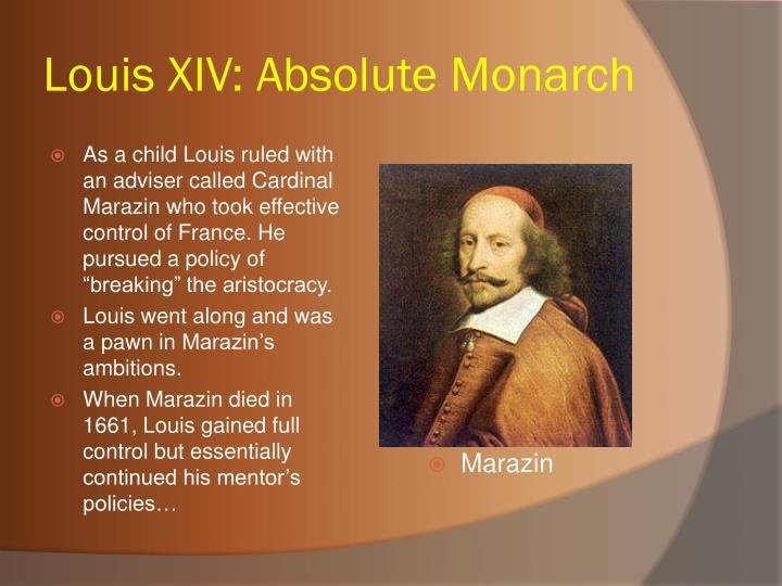 Louis XIV: Absolute Monarch