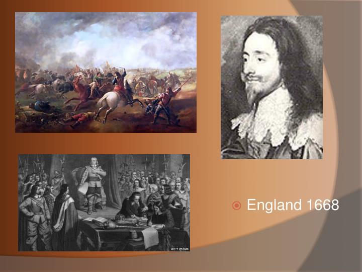England 1668