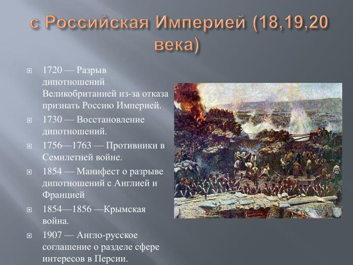 с Российская Империей