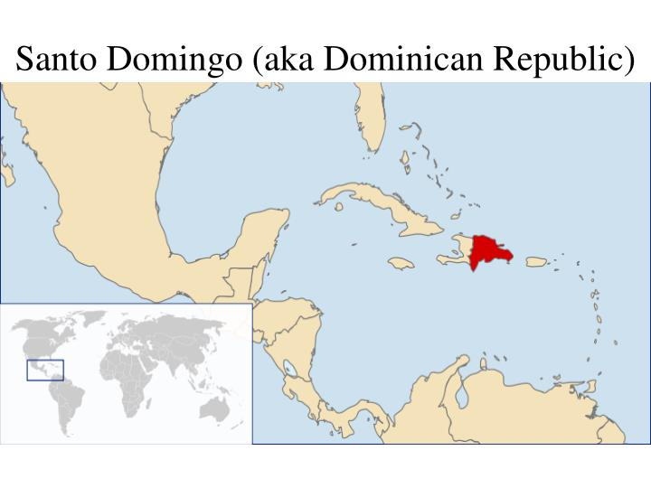 Остров доминикана где находится